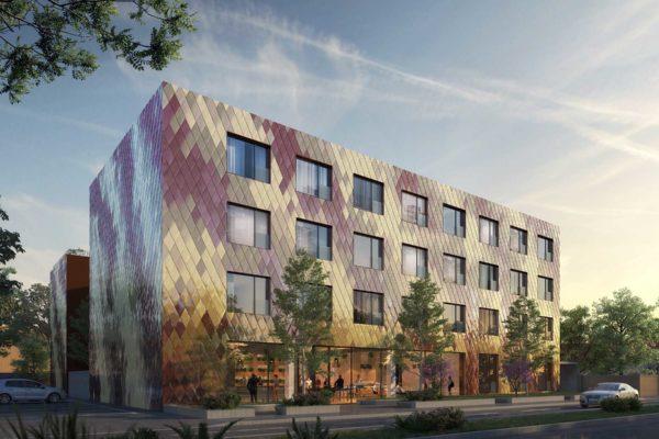 3D Visualisierung, Wettbewerb, Hotel, Teamwerk Architekten